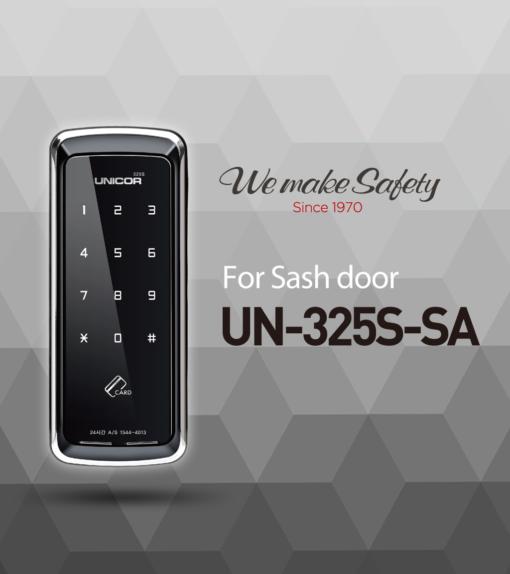 khóa cửa thẻ từ cửa nhôm Unicor UN-325S-SA