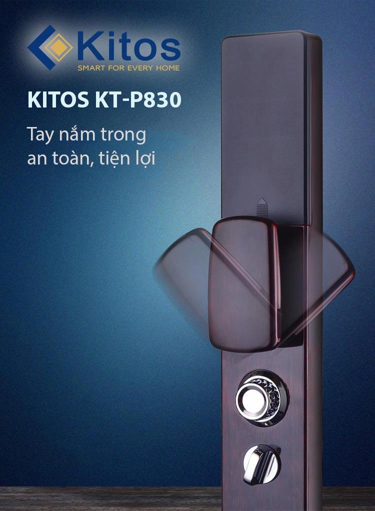 Review chi tiết khoá Kitos KT-P830